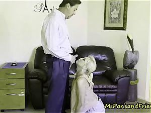 Ms Paris luvs Her Creampies and Facials