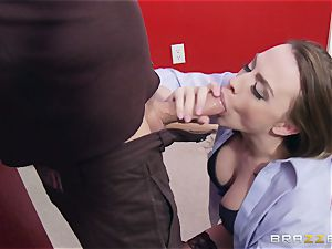 Married girl Chanel Preston gets titfucked and her cooter screwing by thief