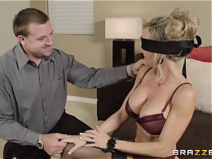The hubby of Brandi enjoy lets her drill a different guy