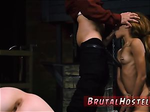 scorching blondie suck off stunning youthful femmes, Alexa Nova and Kendall forest, take a train-ride to