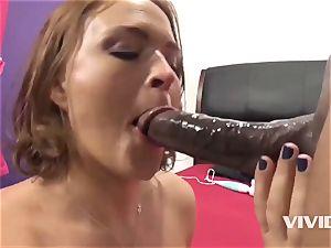 Krissy Lynn Gets A hard big black cock In Her cunny