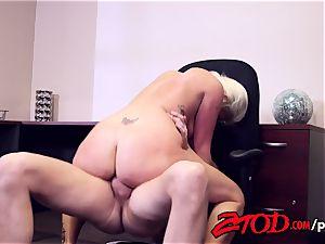 Layla Price Excels During rectal Interview