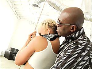 Phoenix Marie getting her elastic culo boinked with ebony dick
