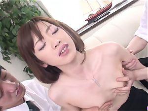 Kanon Hanai works magic on man meat - More at 69avs.com