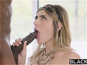 Arab dame Audrey Charlize likes the taste of a bbc