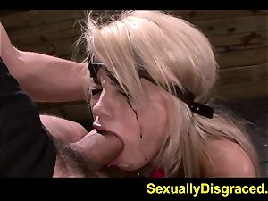 hardcore dungeon bondage for Alice Amore