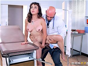 Cytherea is left blasting as she visits the doctor