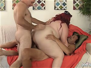 enormous Eliza Allure Gets double drilled