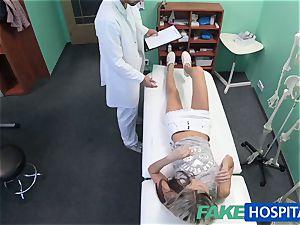 FakeHospital bashful super-cute Russian cured by shaft