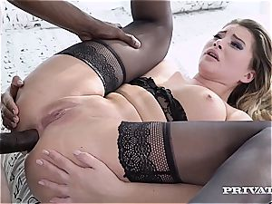 Anna Polina gets the big black cock treatment