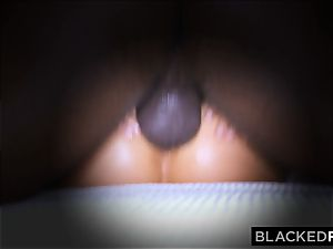 BLACKEDRAW wifey enjoys his thick ebony beef whistle a lil' too much