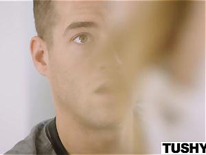 TUSHY Pretty teen Gets Even With Her hotwife boyfriend