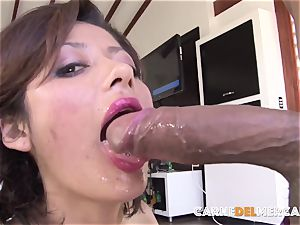 CarneDelMercado - Pickup and poke with brunette Latina