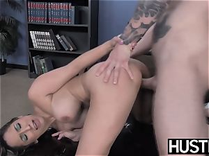 big-titted Reena Sky earns facial after godly rod railing