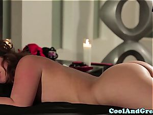 gorgeous Maddy O'Reilly gets her ginger vulva rode
