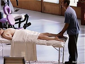 fabulous Mimi Rogers gets her whole bod touched