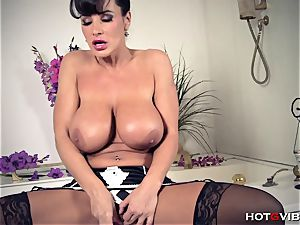gigantic, Soapy breasts cougar Lisa Ann