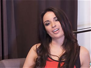 LA COCHONNE - stunner Anissa Kate gets deep anal invasion fuckin'