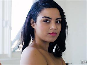 scissoring twat stunners Maya Bijou and Riley star