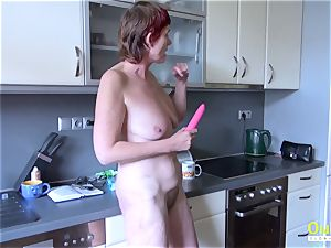 OldNannY Mature and friends 3some xxx