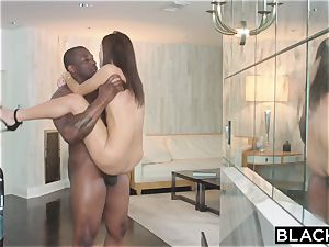 scorching nubile destroyed by big black cock