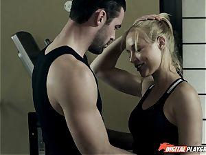 Kayden Kross romps her trainer Charles Dera