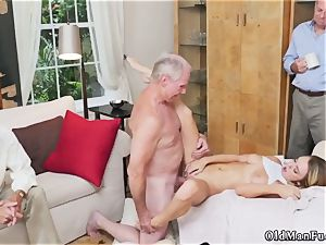 aged swinger couples and young gonzo Turns out his niece s school gf was staying with him