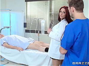 luxurious doc Monique Alexander ravages her trainee