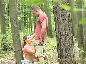 Dane Jones Outdoor tear up in public teen lovers