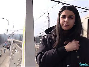 european stunner will do anything and everything for money