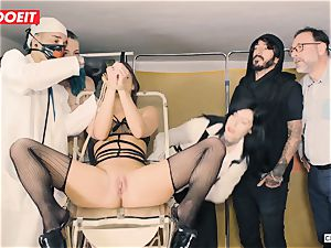 LETSDOEIT - Amirah Is abused at her first-ever domination & submission party