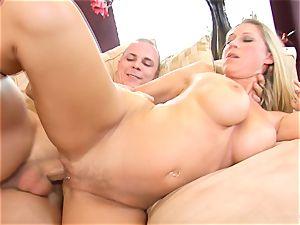 Devon Lee stunner getting mans mancum split in her mouth