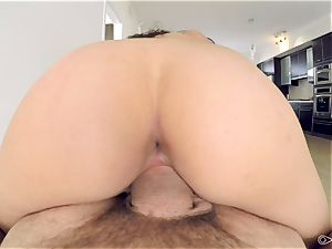 point of view - Kristina Bell covets meaty pecker for her pussyhole