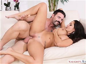 Ava Addams plowed on the couch