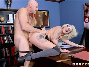 Harlow Harrison humping the dean