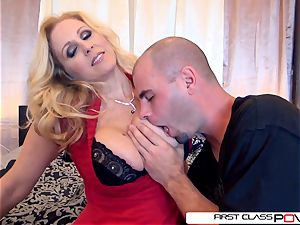 Julia's husband observe her getting nailed by other dudes