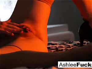 handsome solo in artful way with Ashlee Graham