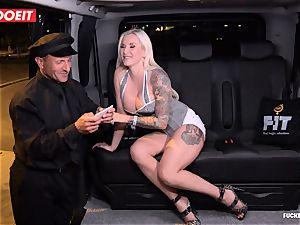 LETSDOEIT - successful cab Driver Bones two super-fucking-hot Blondes