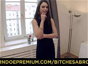 breezies ABROAD - super hot Russian Arwen Gold rails ginormous beef whistle