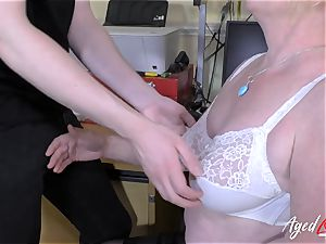 AgedLovE Mature Claire Knight hard-core Footage