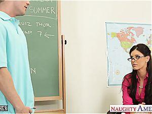 lil' jugged tutor India Summer bang her teenager schoolgirl