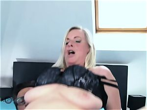 German Mature messy Tina Has Her butt drilled