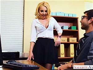 milf Aaliyah enjoy seduced by strung up pc technicians