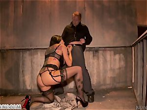 Romi Rain - astounding super-fucking-hot fledgling pornography in the street