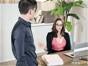 Working firm with Chanel Preston
