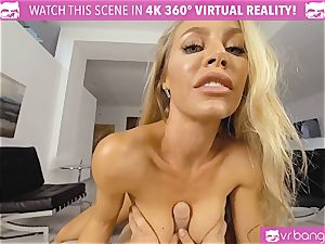 VR PORN-Nicole Aniston Gets romped rock-hard and deep throats