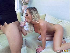 teasing ash-blonde fate Dixon packed by Keiran Lee