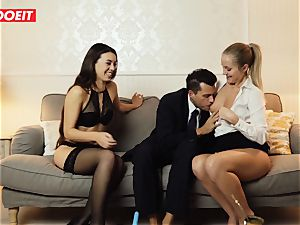 LETSDOEIT - naughty wifey Gets ravaged gonzo By Swingers