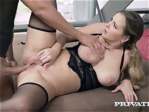 Privatecom - bootylicious Candy Alexa gets her backside screwed rock-hard