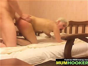 mom bi-atch adore harsh fucky-fucky with her youthful lover